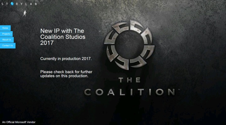 xbox one the coalition new game