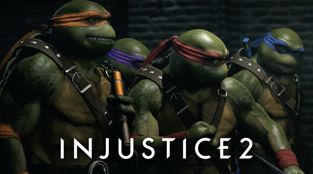 injustice 2 ninja turtles gameplay