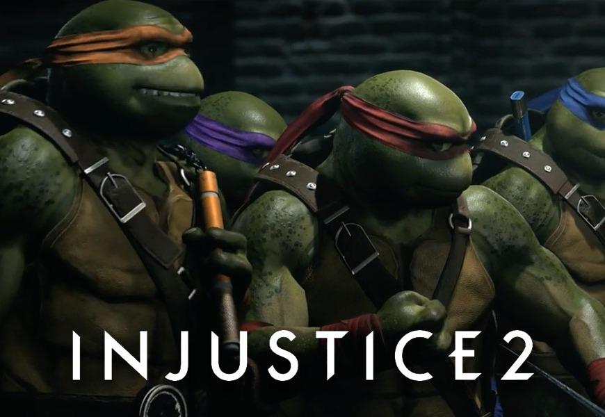 injustice 2 ninja turtles gameplay