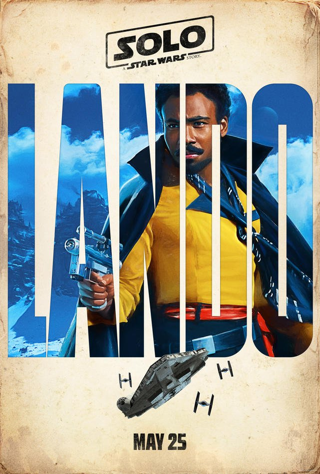 lando star wars poster
