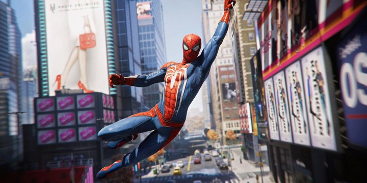 spiderman ps4 screenshots