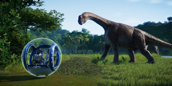 jurassic world evolution screenshots