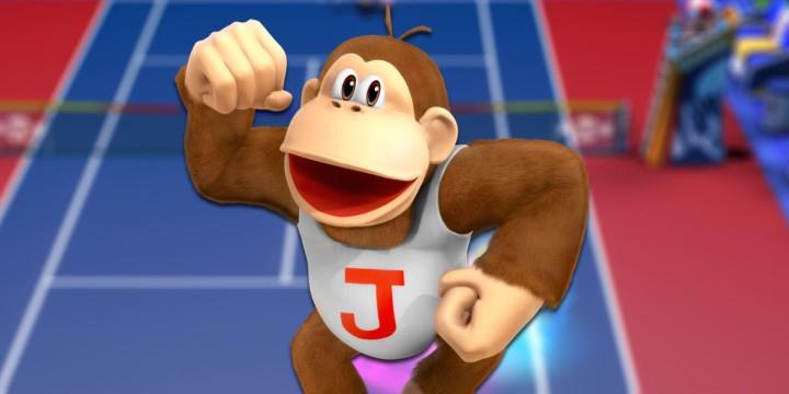 mario tennis aces donkey kong jr