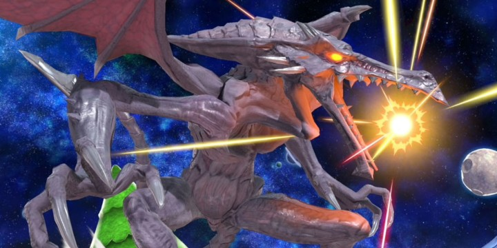 super smash bros ultimate ridley screenshots
