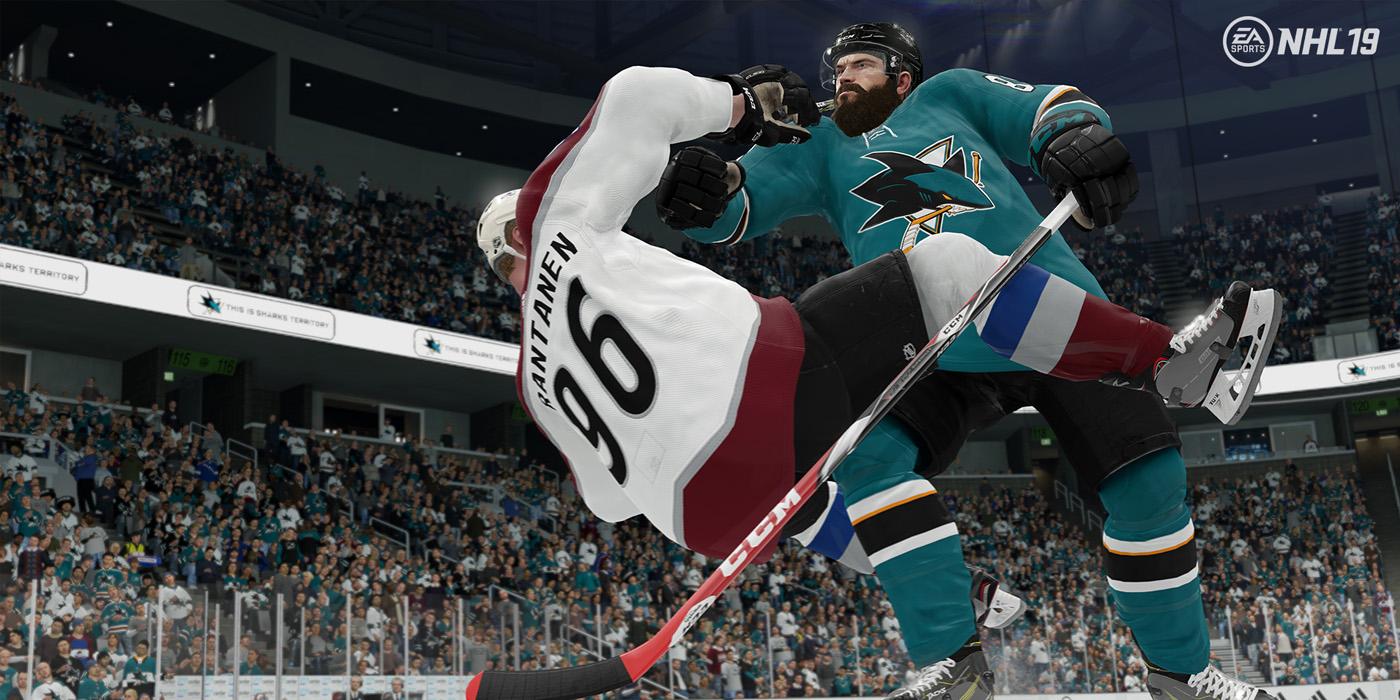 NHL 19 Hit