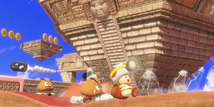 captain toad treasure tracker odyssey level