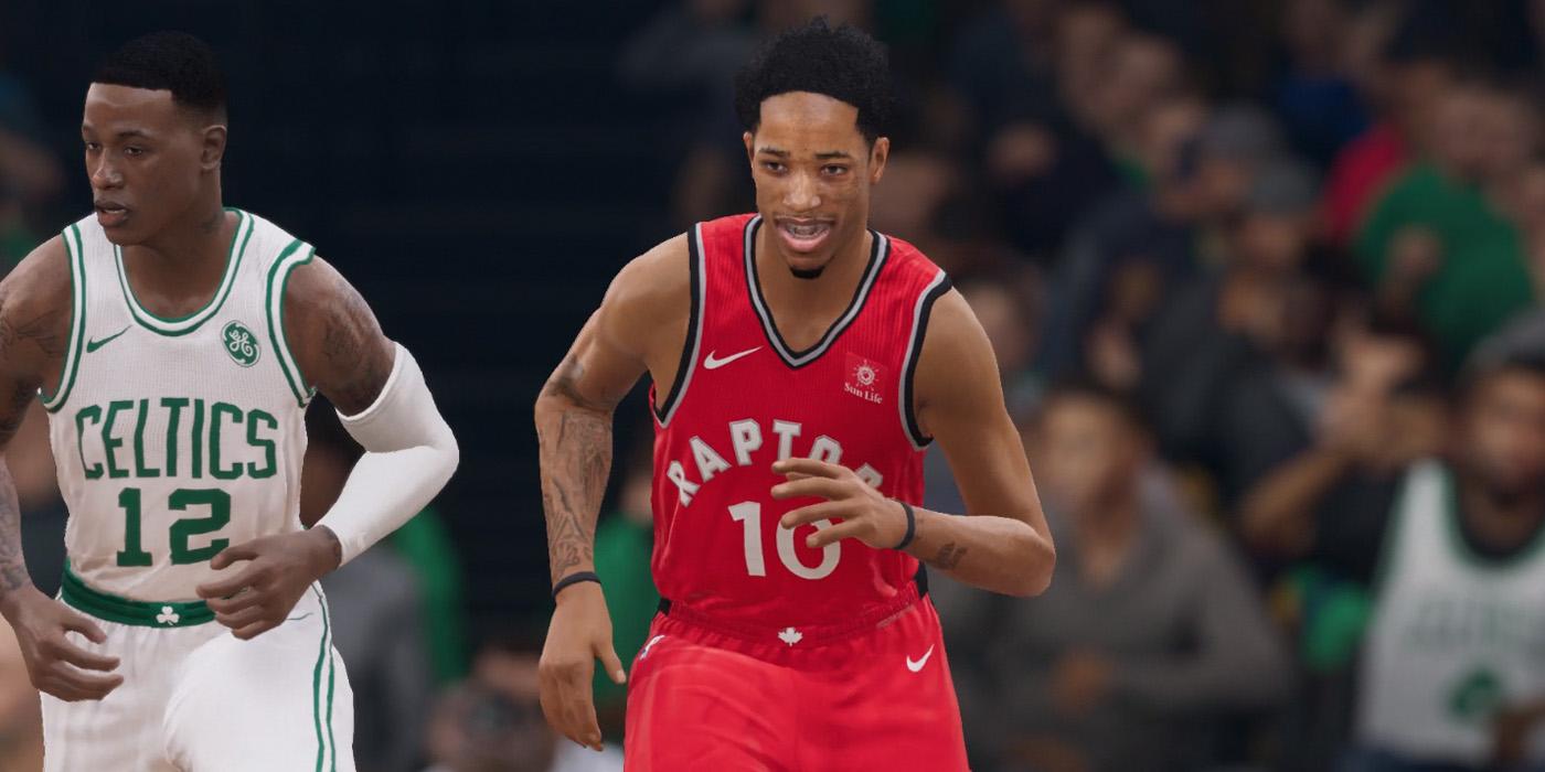 NBA Live 19 Raptors DeRozan