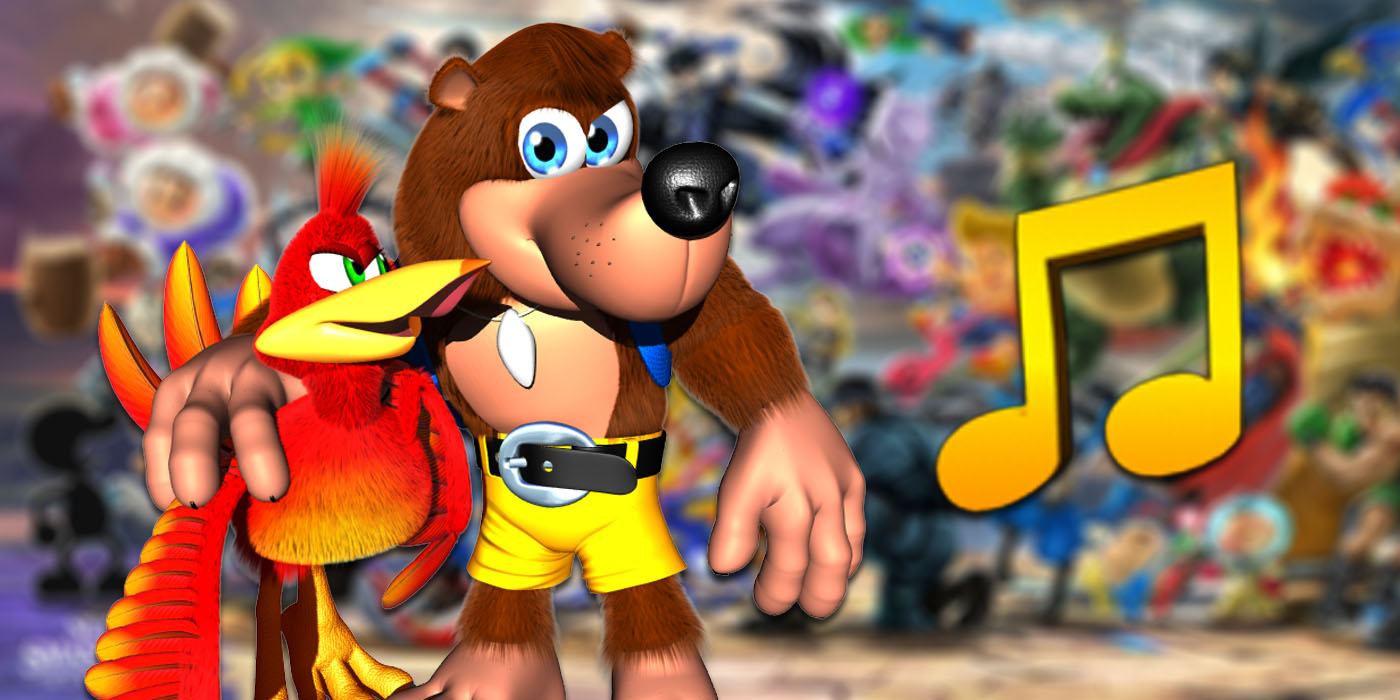 super smash bros ultimate grant kirkhope banjo kazooie