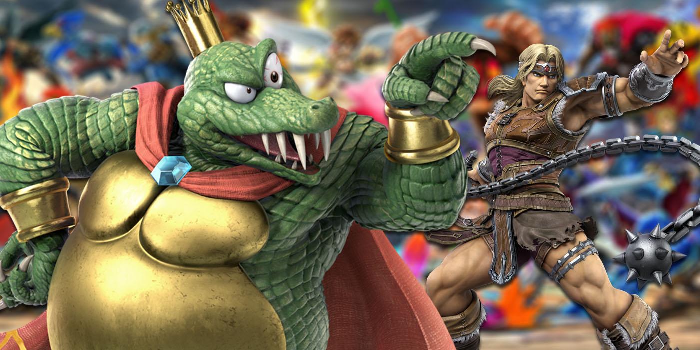 super smash bros ultimate simon king k rool
