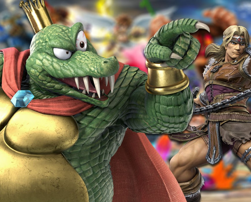 super smash bros ultimate simon king k rool