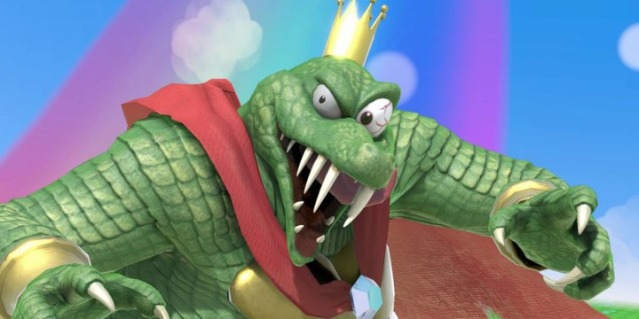 super smash bros ultimate king k rool