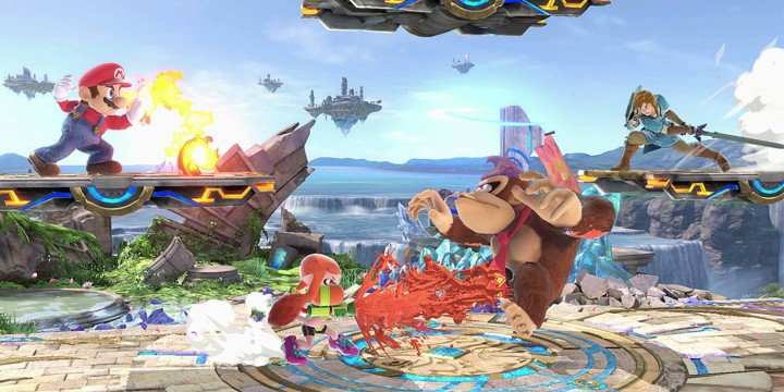 super smash bros ultimate preview