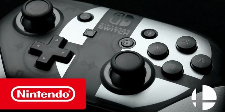 super smash bros ultimate pro controller