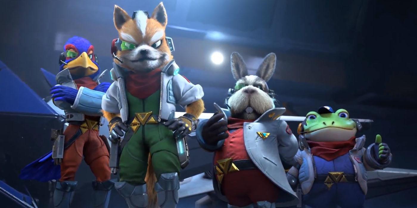star fox starlink crossover