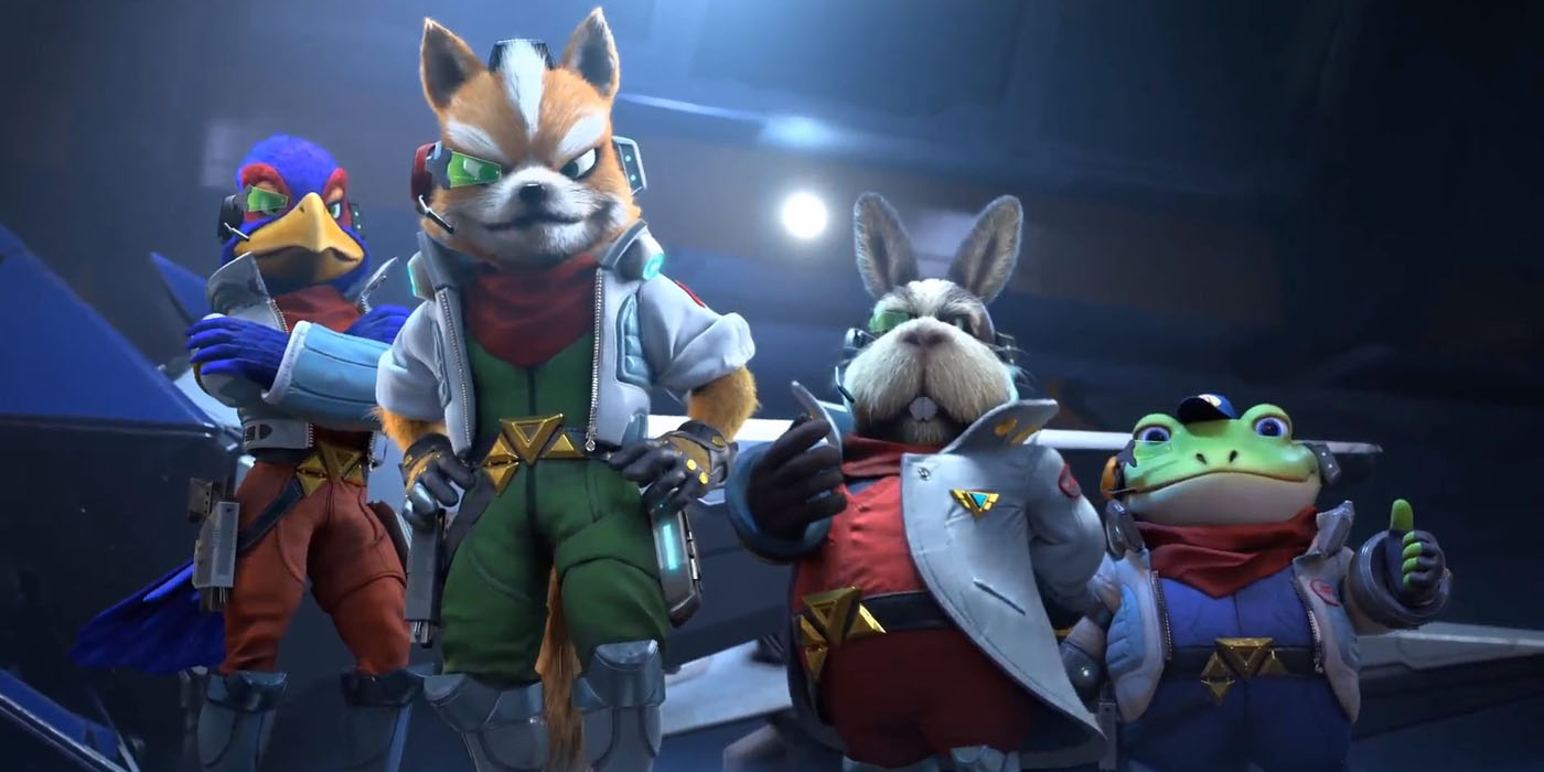 star fox starlink crossover