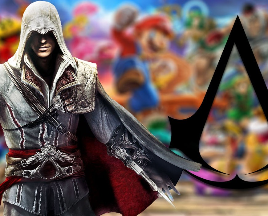 super smash bros ultimate assassins creed