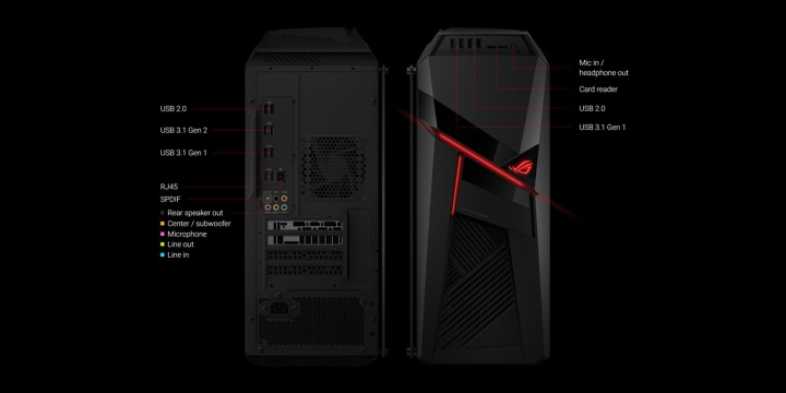 ASUS Gl12CM Specifications