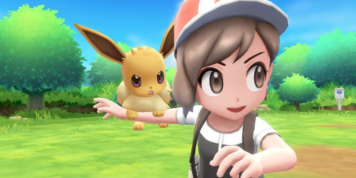 Pokemon Lets Go Eevee Screenshots