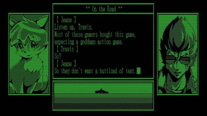travis-strikes-again-text-adventure-screenshot