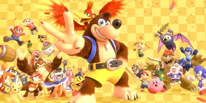 Banjo Kazooie Super Smash Bros Ultimate Screenshots